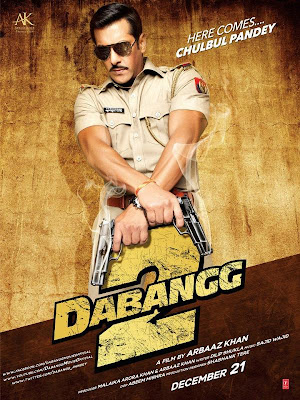 Dabangg 2 Movie Poster
