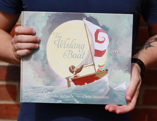 Ive Just Received An Advanced Copy Of The Wishing Boat Written By Amanda Tarlau And Published Scholastic Australia