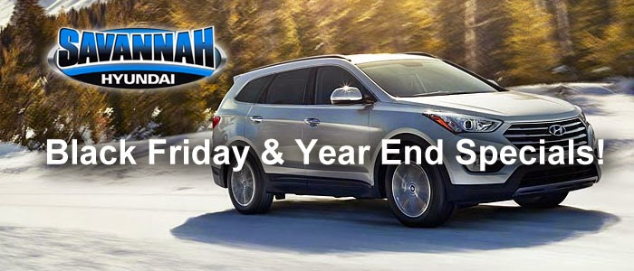 Savannah Hyundai, Savannah, GA, Balck Friday Specials, Year End Specials