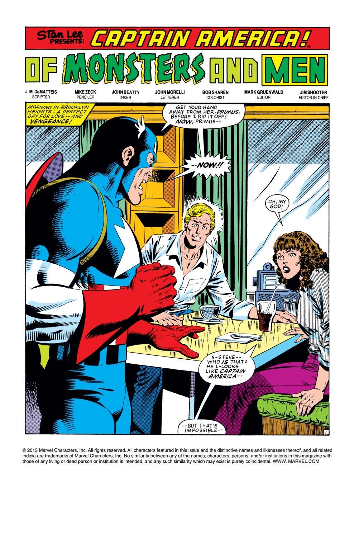 Captain America (1968) Issue #279 #195 - English 2