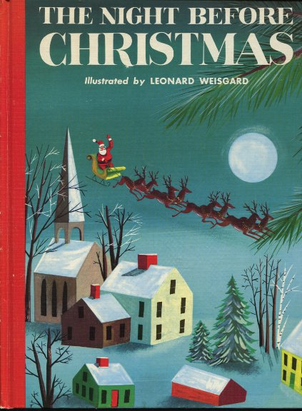 Twas the night before christmas various illustrators