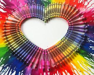 Crayon Art Splash