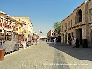 Souq Waqif Doha Qatar zoco de dia