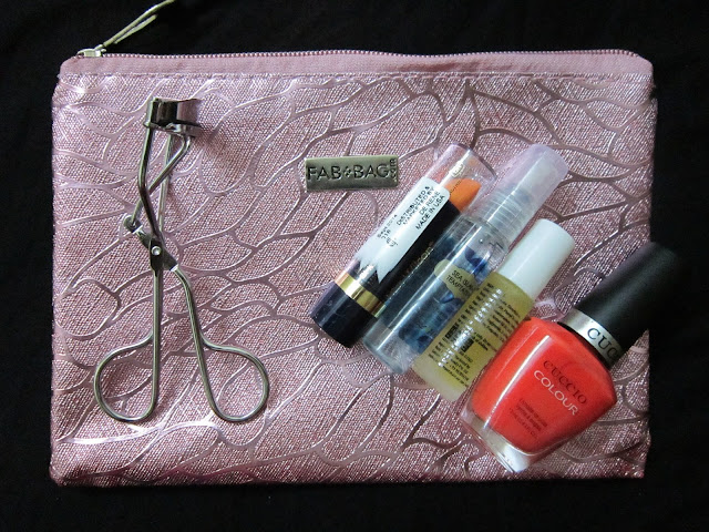 August Fab Bag 2015 - Review image