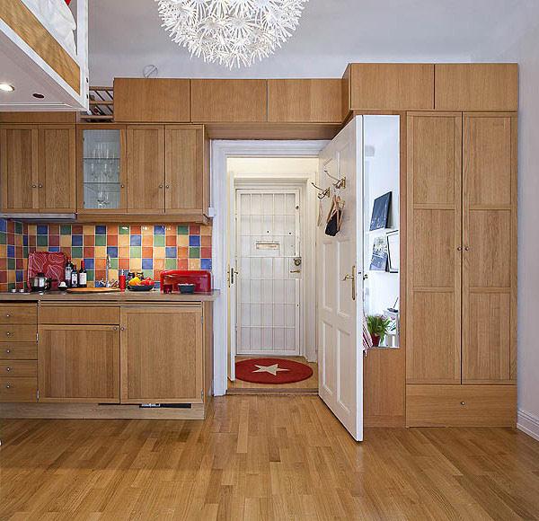 Entre barrancos decoraci n un mini apartamento de 21 for Decoracion apartamento 100 metros