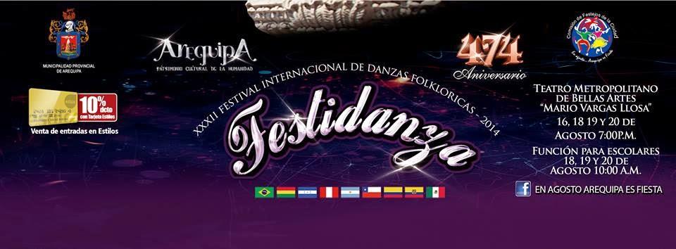 Festidanza Arequipa 2014