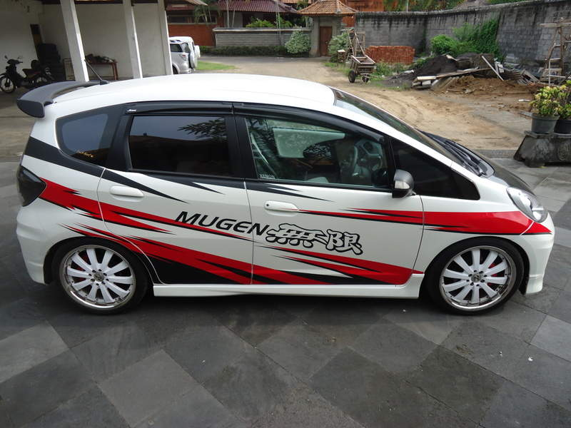 Honda jazz modified mugen