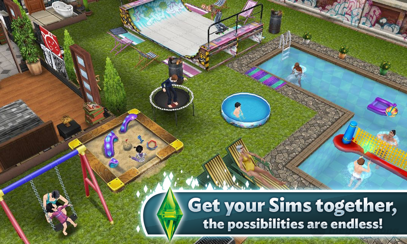 The Sims Freeplay Cheats unlimited money