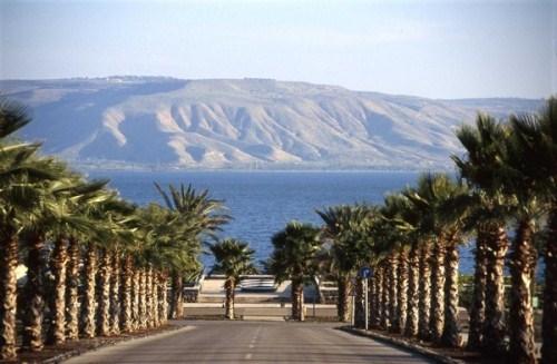 Kinneret - the second - the Sea of Galilee. Sea of Jesus Christ