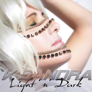 K'Sandra's Album Cover Light and Dark