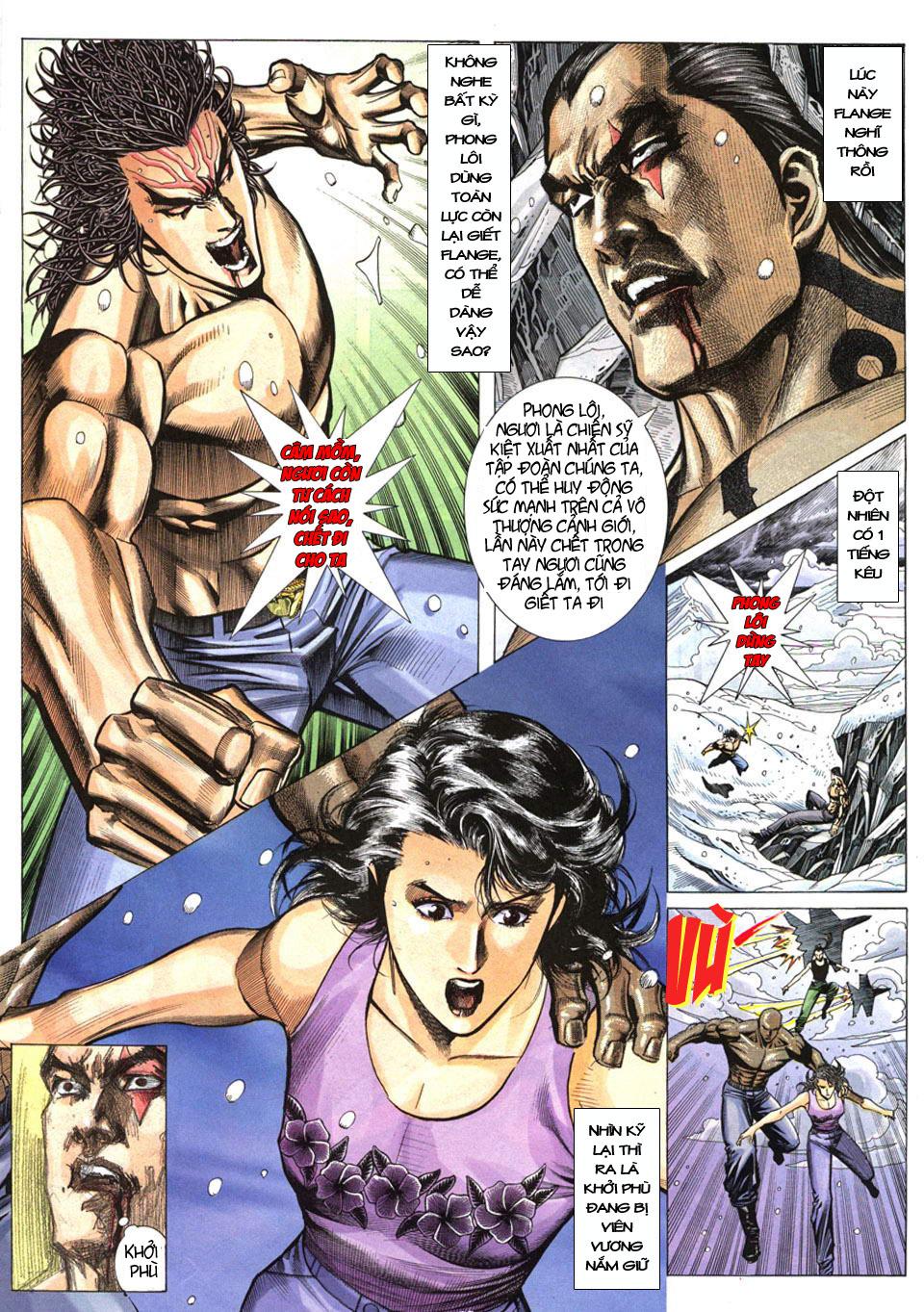 Phong Lôi chap 40 - Trang 23