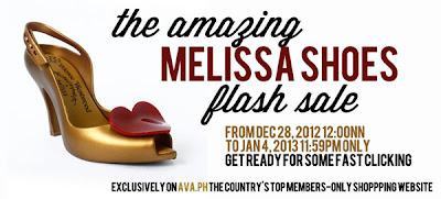 Melissa Shoes Flash Sale at AVA.ph
