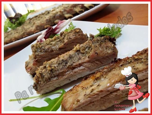* Costillas de cerdo asadas (tradicional)