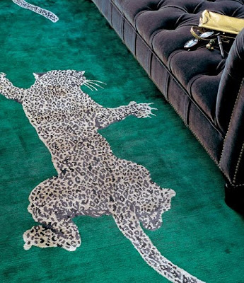 The Climbing Leopard Rug the rug company