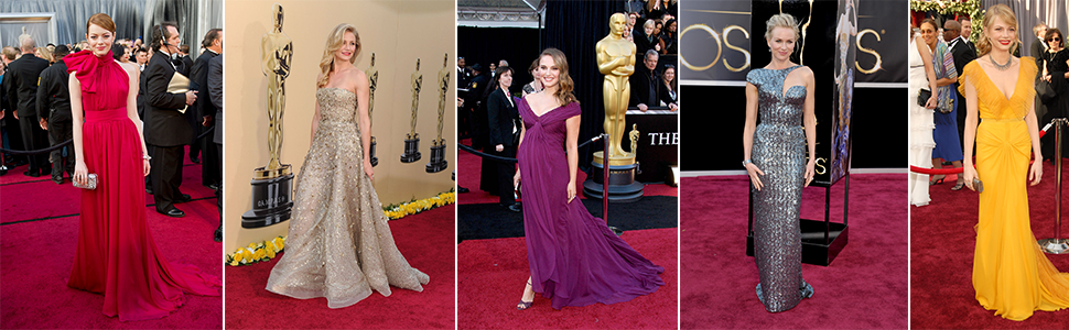 Cele mai frumoase rochii de la Oscar