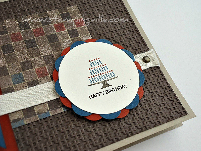 Birthday Candles - Pretty Postage Stamp Set by Stampin' Up!