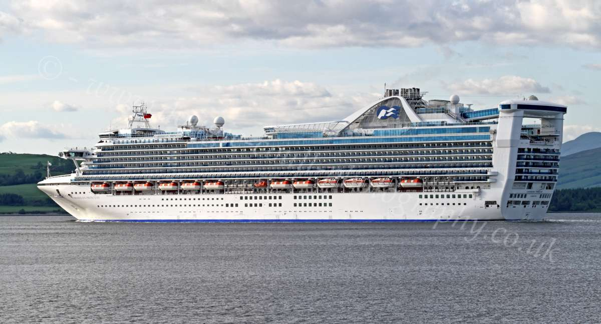 Dougie Coull Photography Caribbean Princess  Cruise Ship