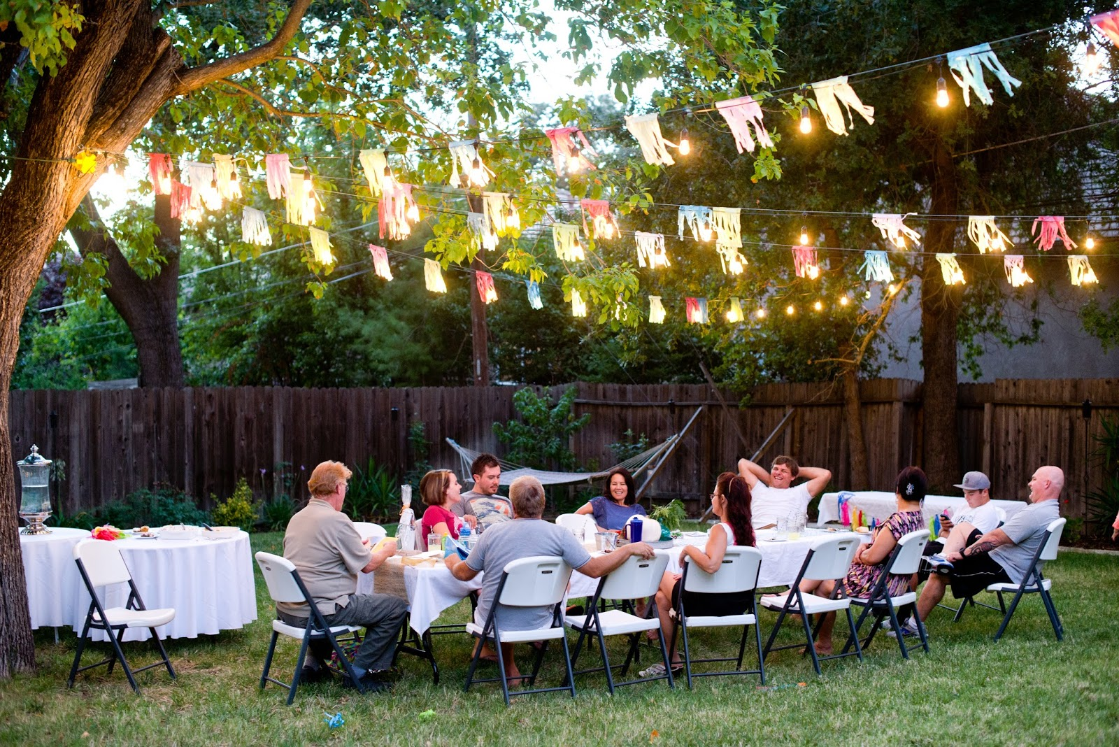 Fall Backyard Ideas : Backyard Fall Celebration