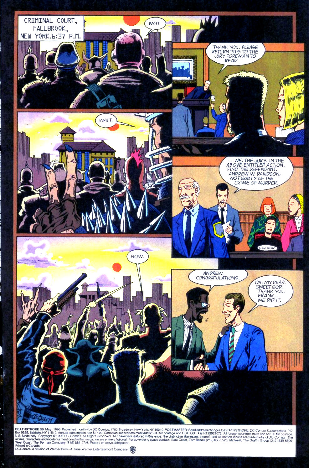 Deathstroke (1991) Issue #59 #64 - English 2