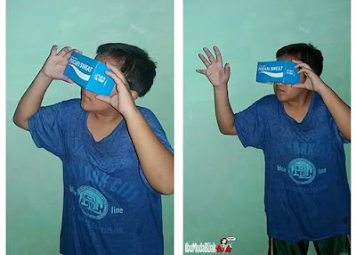 Pocari Sweat VR Cardboard Lunar Edition