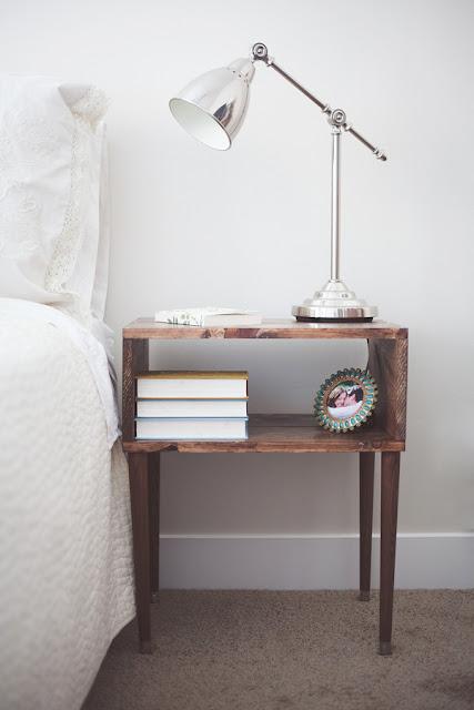 diy bedside table tutorial