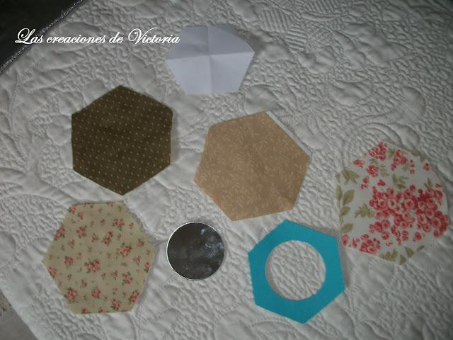 Las creaciones de Victoria. Patchwork. Francesca Ogliari