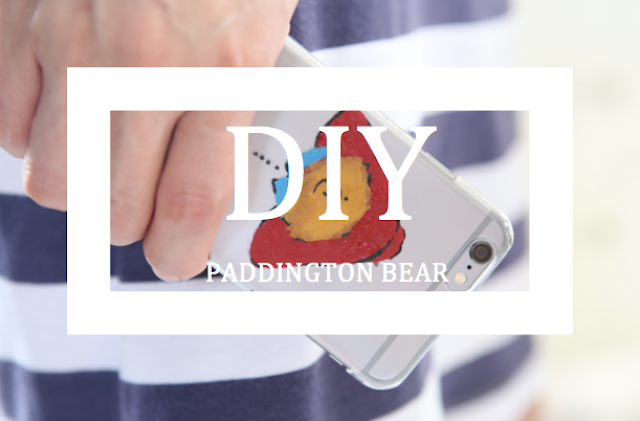 DIY Paddington Bear Phone Case