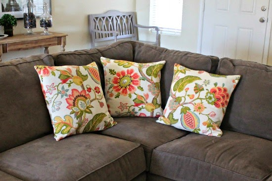 Away She Went: Living Room Throw Pillows