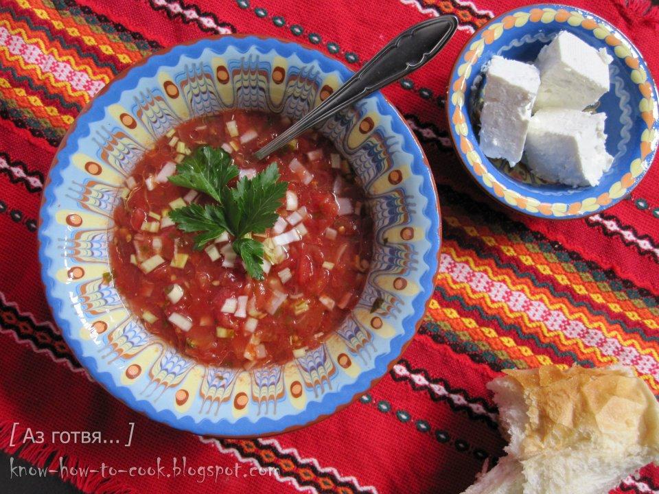 Зимна доматена супа
