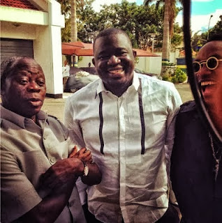 ar Kcee Entertains   Oshiomole, Donald Duke And other Big Politician
