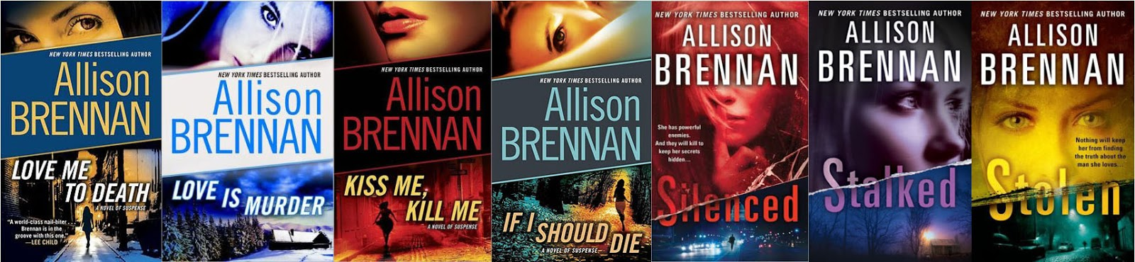 Lucy Kincaid Series Books 1 - 8 - RE-UPLOADED - Allison Brennan