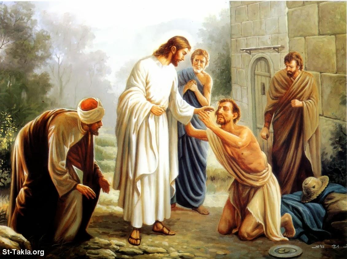 Jesus Cristo cura e salva