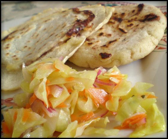 Pupusas Con Curtido Recipes — Dishmaps
