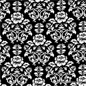 BLACK AND WHITE FABRIC PATTERNS | Browse Patterns
