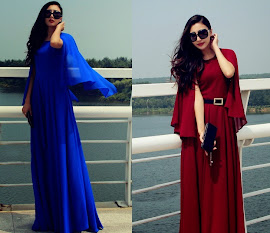 Open Sleeve Goddess Maxi
