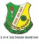 SMK SULTANAH BAHIYAH