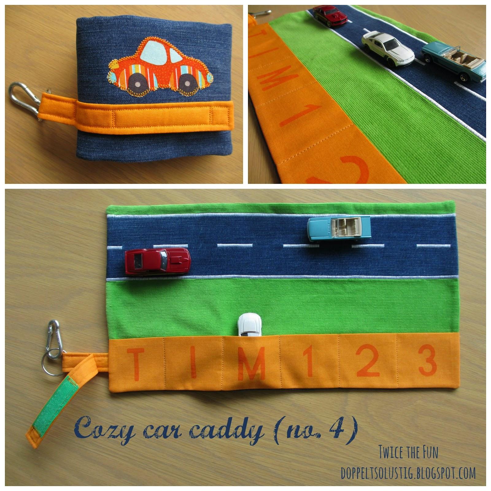 Cozy car caddy no. 4 | Twice the fun