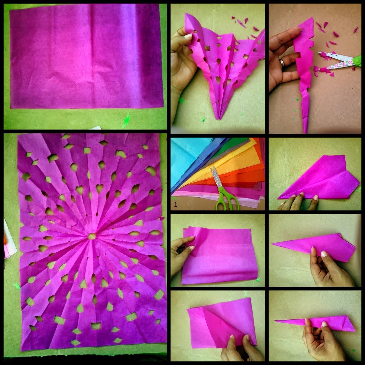 Como doblar el papel china para arreglos mejor conjunto - Decoraciones de papel ...
