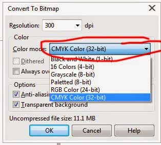Mengatur Mode Warna Bitmap