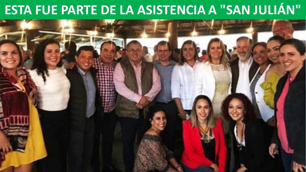 """ASISTENCIA A """"SAN JULIÁN"""""""