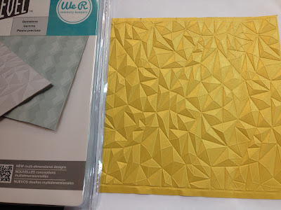 American Crafts We R Memory Keepers Next Level Embossing Folder Ribbon