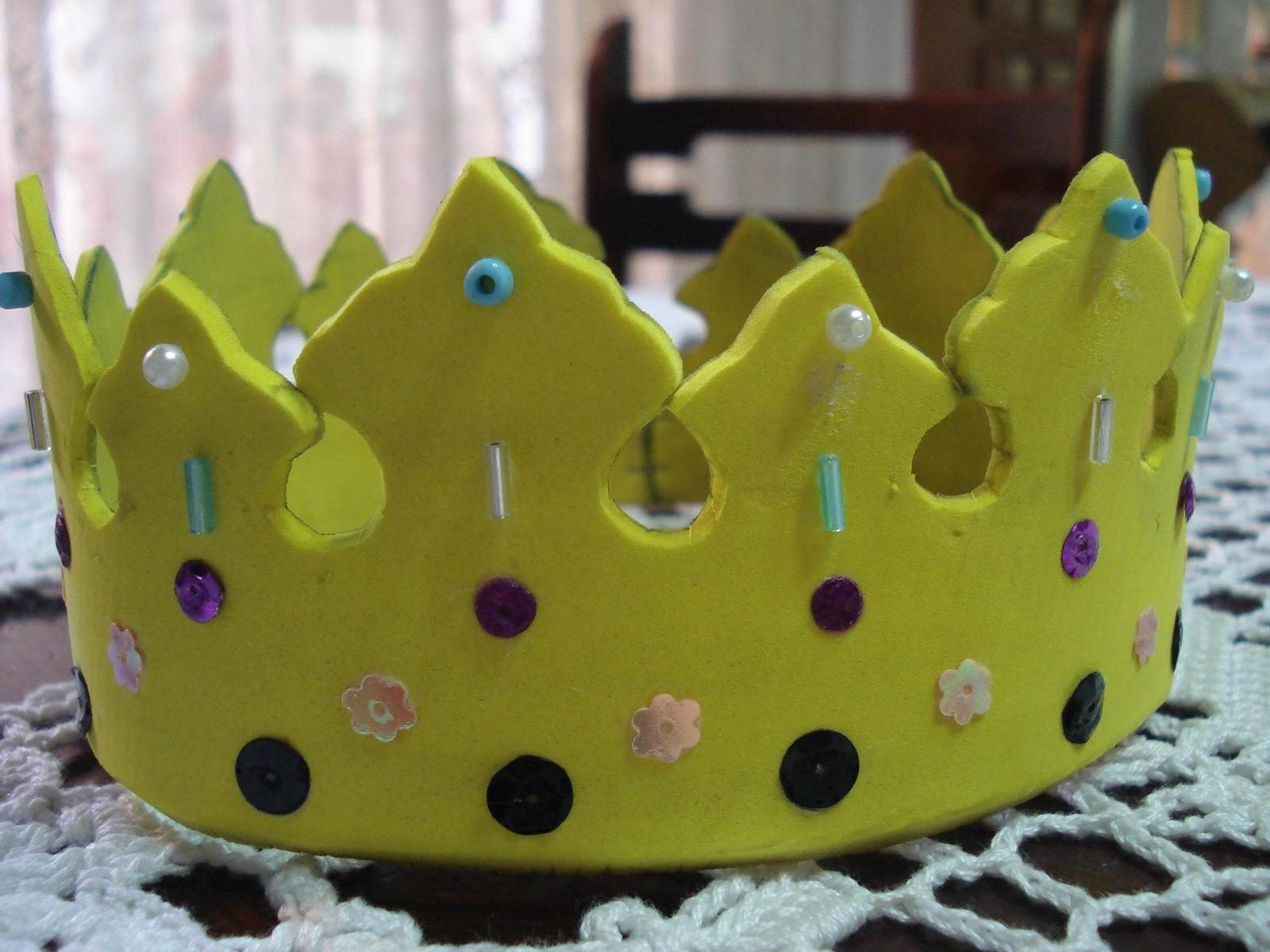 Coronas  Vinchas Y Sombreros En Goma Eva