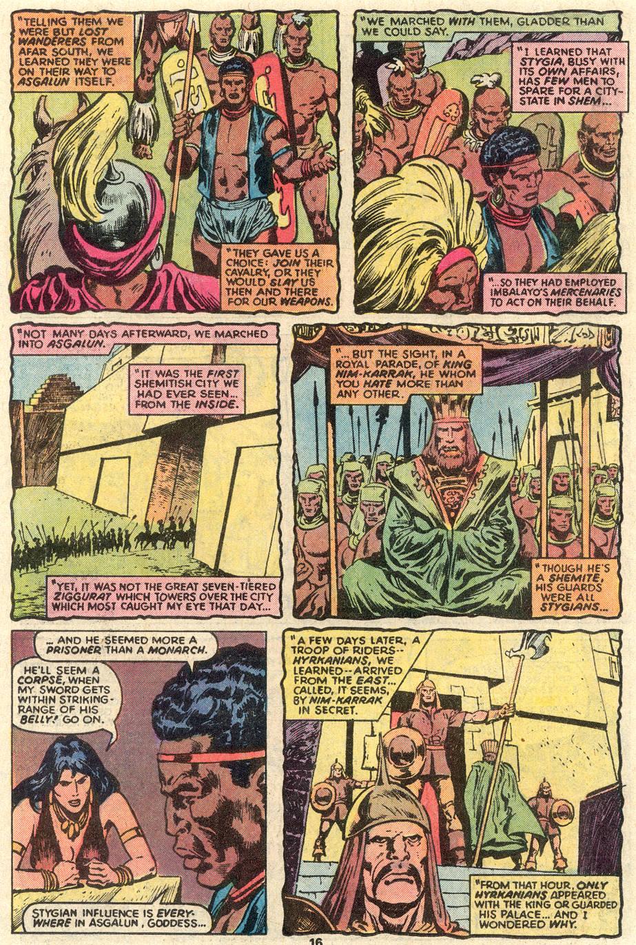 Conan the Barbarian (1970) Issue #91 #103 - English 11