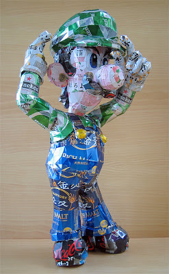 Recycled Can Sculptures Seen On www.coolpicturegallery.us
