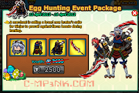 Cheats Ninja Saga - HairStyle Egg Hounting Event Package