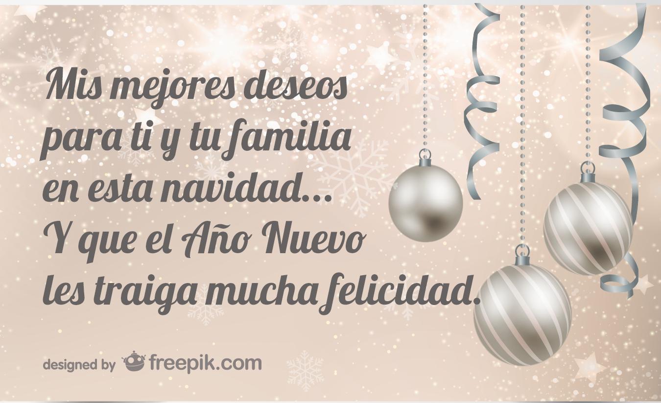 Amor y tinta frases de navidad para familia - Navidad en familia frases ...