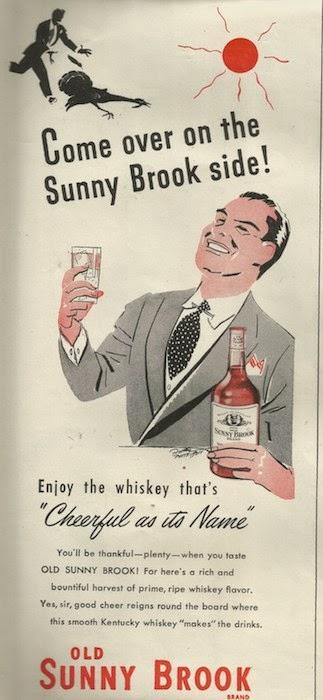 Sunny Brook Whiskey Ad