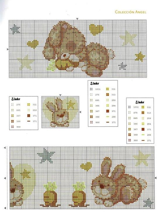 Una Locura de ideas !!! de punto de cruz: enero 2012