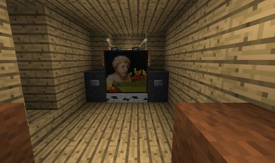Home-Cinéma Minecraft
