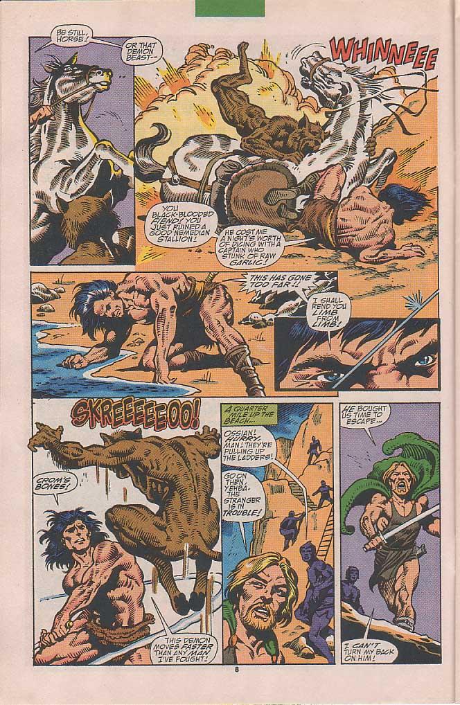Conan the Barbarian (1970) Issue #251 #263 - English 7